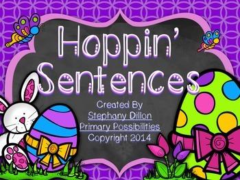 Hoppin' Sentences {A Sentence Editing Freebie}