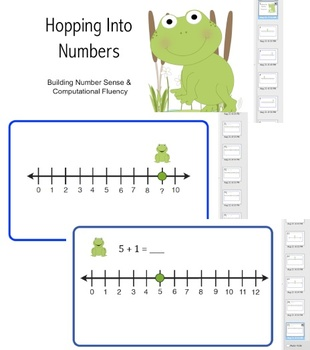Hopping Into Numbers - SMARTBOARD FILE