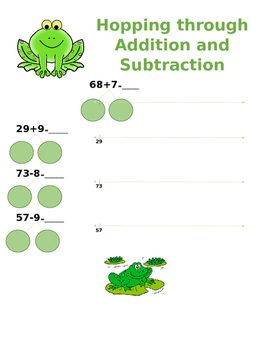 Hopping through Addition and Subtraction