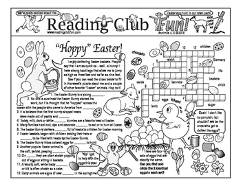 'Hoppy' Easter (Traditions) Two-Page Activity Set