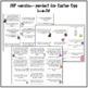 Hoppy Spring Break! Reading Review Task Cards