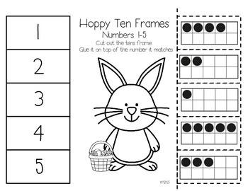 Hoppy Ten Frames