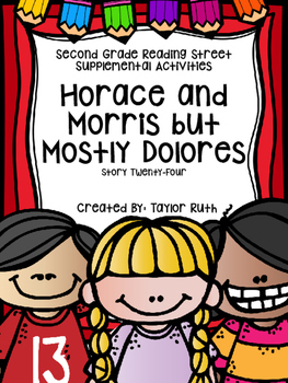Horace and Morris but mostly Dolores (Second Grade Reading