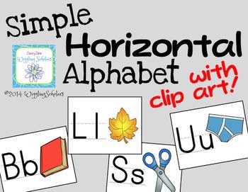 Manuscript Alphabet Posters