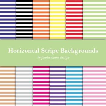 Horizontal Stripe Background Package