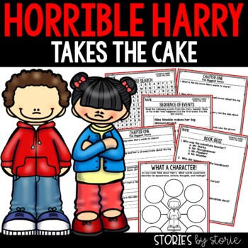Horrible Harry Takes the Cake - Comprehension Questions