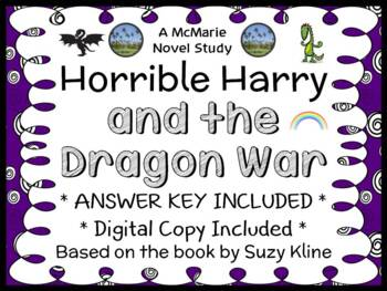 Horrible Harry and the Dragon War (Suzy Kline) Novel Study