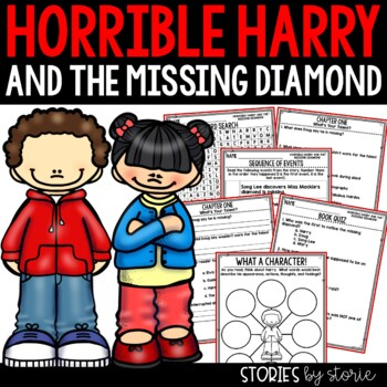 Horrible Harry and the Missing Diamond - Comprehension Questions