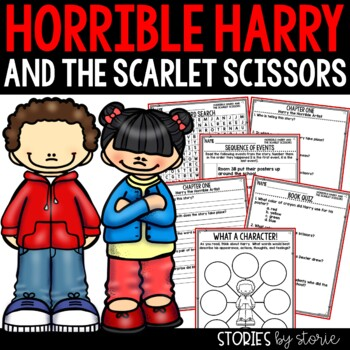 Horrible Harry and the Scarlet Scissors - Comprehension Questions