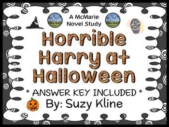 Horrible Harry at Halloween (Suzy Kline) Novel Study / Rea