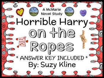 Horrible Harry on the Ropes (Suzy Kline) Novel Study / Rea