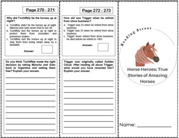 Horse Heroes: True Stories of Amazing Horses - 4th Grade R