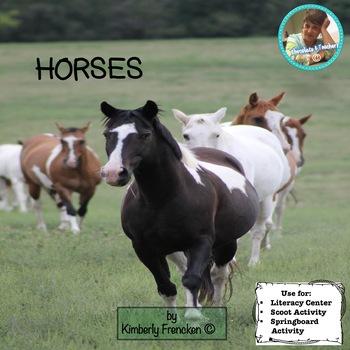 Horse: Non-Fiction Literacy Center or Close Reading Pocket