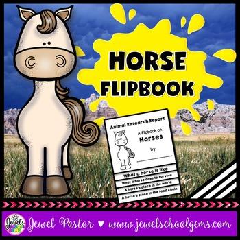 Horse Science Activities (Horse Research Flipbook)