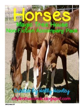 Horses: A Non-Fiction Magic Tree House Accompany Pack