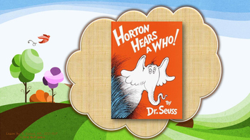 Horton Hears a Who Comprehension Unit
