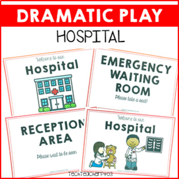 Hospital Role Play Pack 30 pages of dramatic community fun!