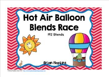 Hot Air Balloon Blends Race