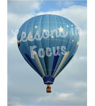 Hot Air Balloon--Blue