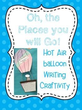 Hot Air Balloon Craftivity! FREEEEBIE!