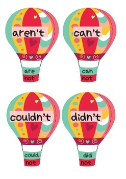 Hot Air balloon contractions