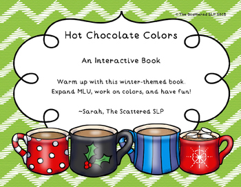 Hot Chocolate Colors Interactive Book - Hot Cocoa Colors