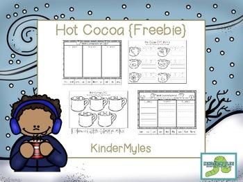 Hot Cocoa {ELA Freebie}