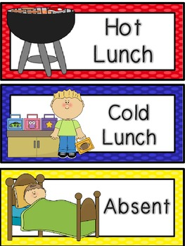 Hot/ Cold/ Absent signs
