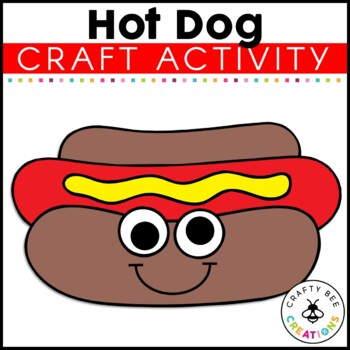Hot Dog Cut and Paste