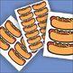 Hot Dog Label Graphics