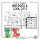 Art Lesson: Hot Dogs and Cool Cats: A Lesson about Warm an