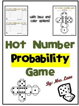 Hot Number Probability Game