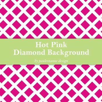 Hot Pink Diamond Pattern Background