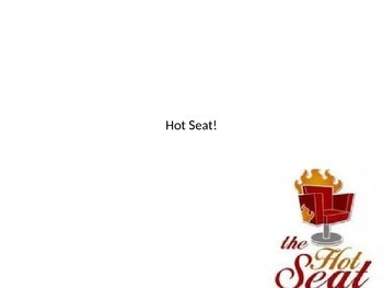 Hot Seat! Special Lines Review Game