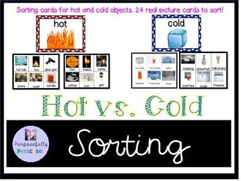 Hot Vs. Cold sorting activity