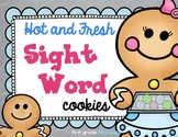 Hot and Fresh Cookie Sight Words Literacy Station