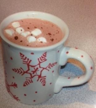 Hot chocolate /f/ sentences