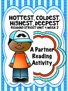 Hottest, Coldest, Highest, Deepest   Reading Street 3rd gr
