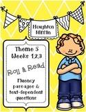 Houghton Mifflin 1st Grade Fluency {Theme 5} CCSS
