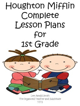 Houghton Mifflin 1st Grade Reading Lesson Plans