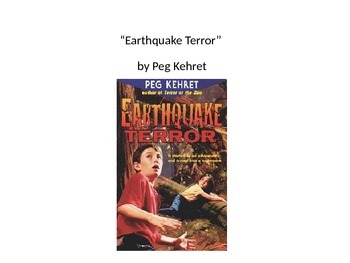 Houghton Mifflin Earthquake Terror Vocabulary PowerPoint