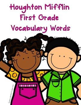 Houghton Mifflin First Grade Vocabulary Words
