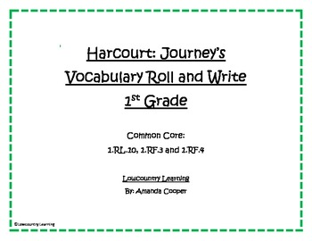 Houghton Mifflin Harcourt - 1st Grade Journey's Reading Se