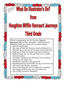 Houghton Mifflin Harcourt 2014 Grade 3 Journeys What Do Il