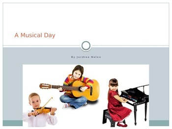 Houghton Mifflin Harcourt Journeys 1st grade A Musical Day