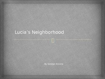 Houghton Mifflin Harcourt Journeys 1st grade Lucia's Neighborhood