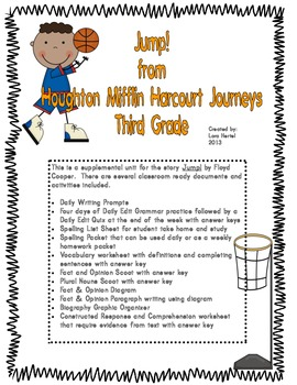 Houghton Mifflin Harcourt Journeys 2014 Grade 3 Jump a Mic