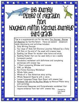 Houghton Mifflin Harcourt Journeys 2014 Grade 3 The Journe