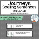 Journeys First Grade Spelling Sentences