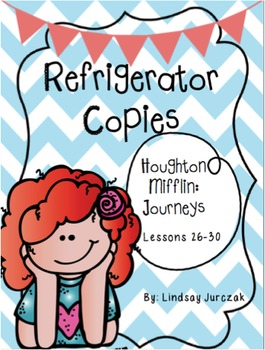 Houghton Mifflin Journeys Grade 1 Unit 6 Refrigerator Copies